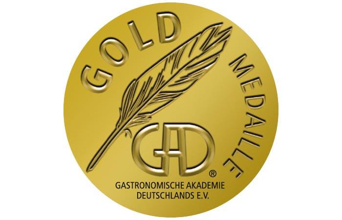 Aufkleber Goldmedaille